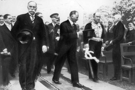 Désiré Cordier et le Président Lebrun
