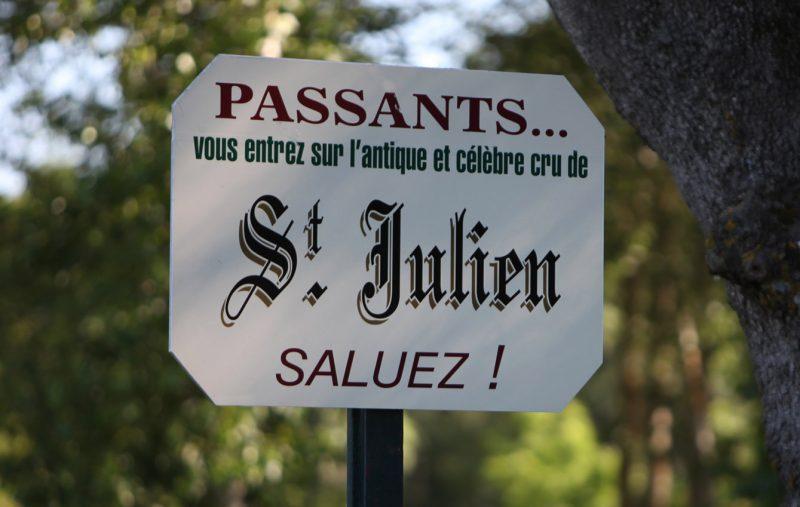 saint julien medoc vin